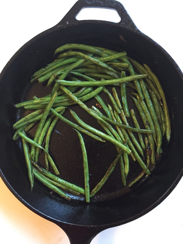 The best green beans ever   A simple recipe from Alaska Knit Nat