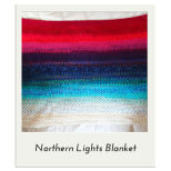 Northern Lights Memory Blanket