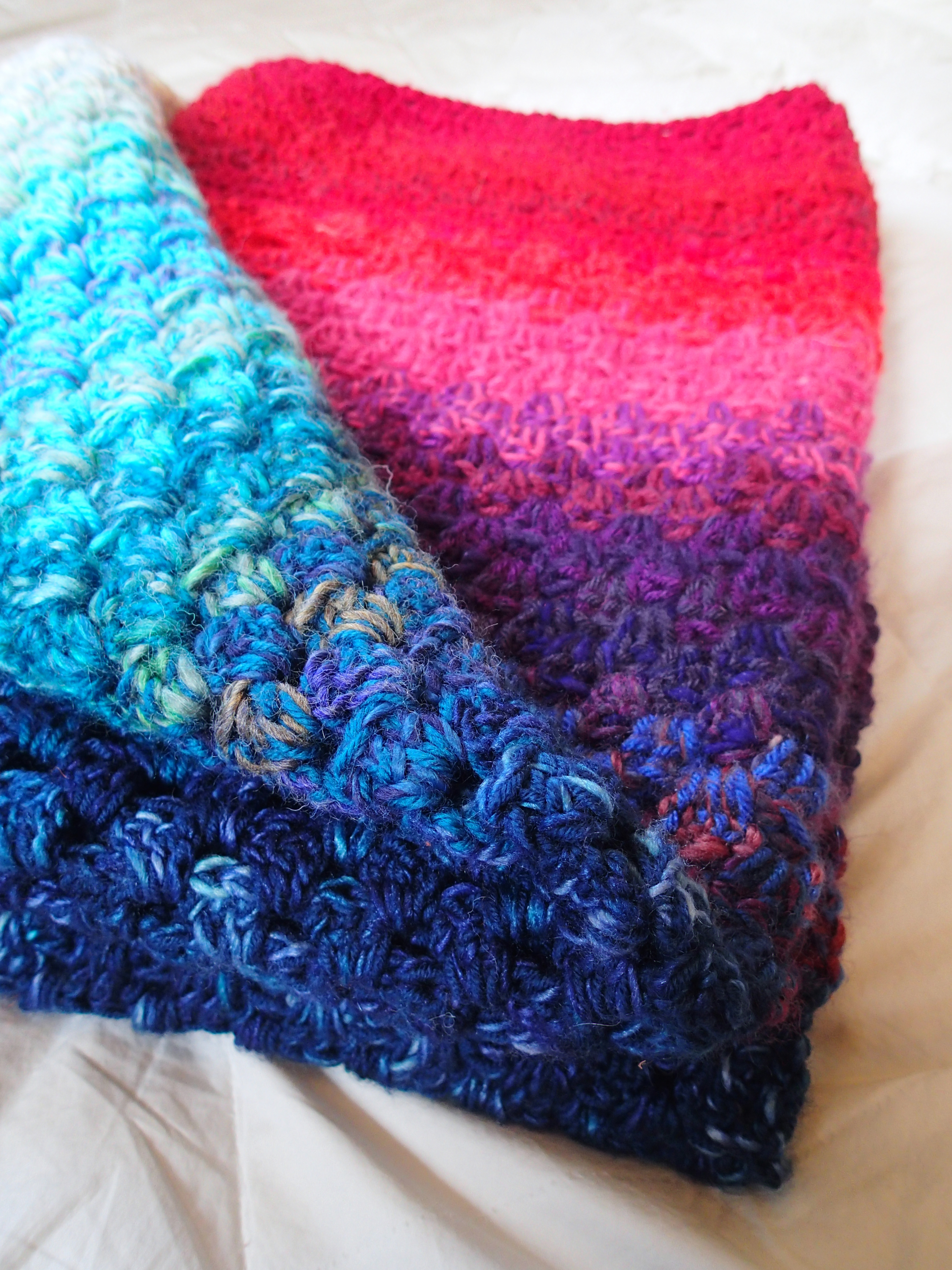 Northern Lights Memory Blanket   A free crochet pattern Alaska Knit Nat