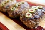 Mini meatloaf with mushroom marsala sauce | An easy recipe from Alaska Knit Nat