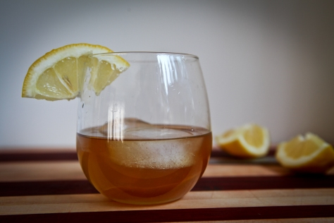 Birch Old Fashioned | a cocktail made with birch simple syrup from Alaskaknitnat.com