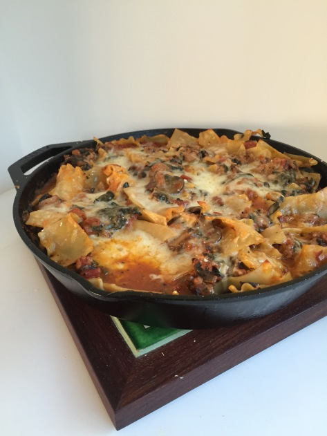 Lazy Lasagna | A delicious and simple recipe from Alaskaknitnat.com