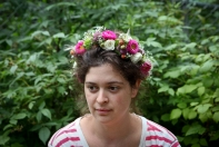 Woodland fairy crown constructed by Natasha of Alaskaknitnat.com