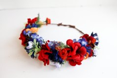 Silk garlands available at my Etsy shop