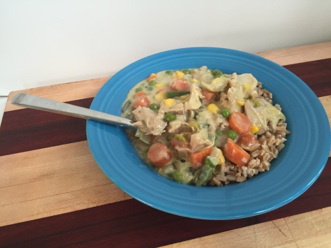 Chicken & Vegetable Stew | An easy recipe from Alaskaknitnat.com