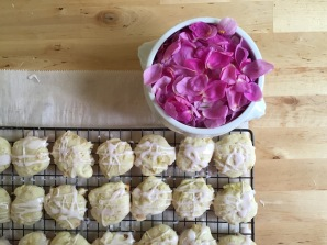 Harvesting Anchorage: Wild Rose and Rhubarb Cookies | A recipe from Alaskaknitnat.com