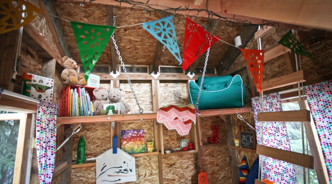 Mini Anchorage Living — a child's backyard dream house