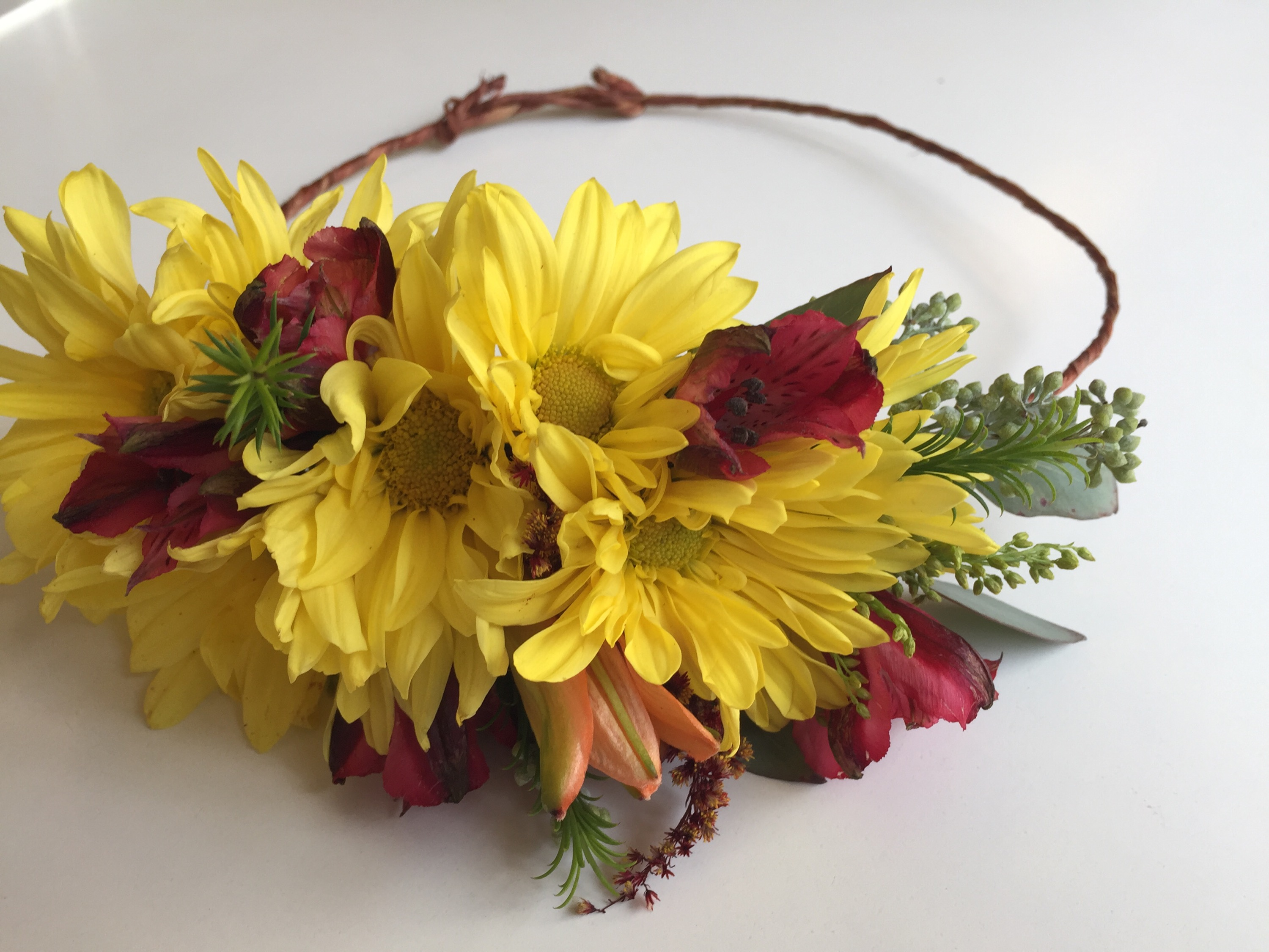 Diy Flower Crown A Video Tutorial Alaska Knit Nat