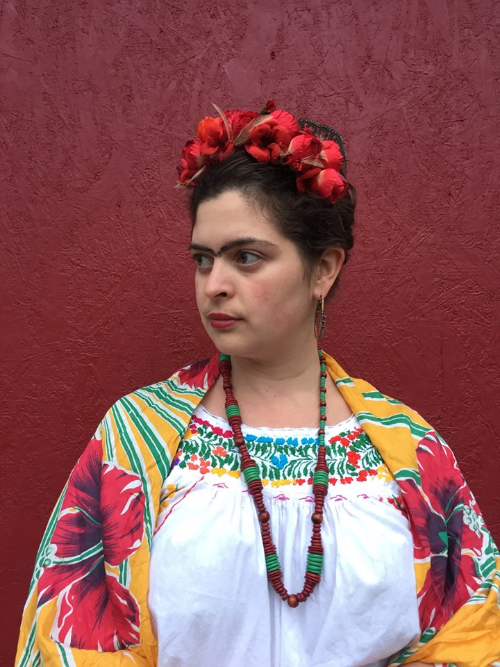 DIY Frida Kahlo Costume | Be colorful and support women with disabilities this Halloween with this  sc 1 st  Alaska Knit Nat & halloween | Alaska Knit Nat
