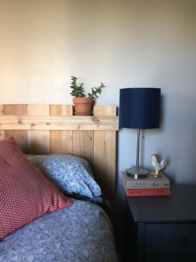 Pinterest Perfect: DIY Rustic Headboard