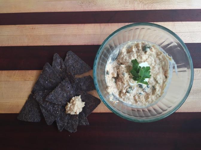 Smoky tuna dip – a healthy snack