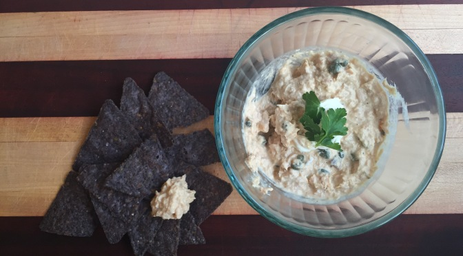 Smoky tuna dip – a healthy snack
