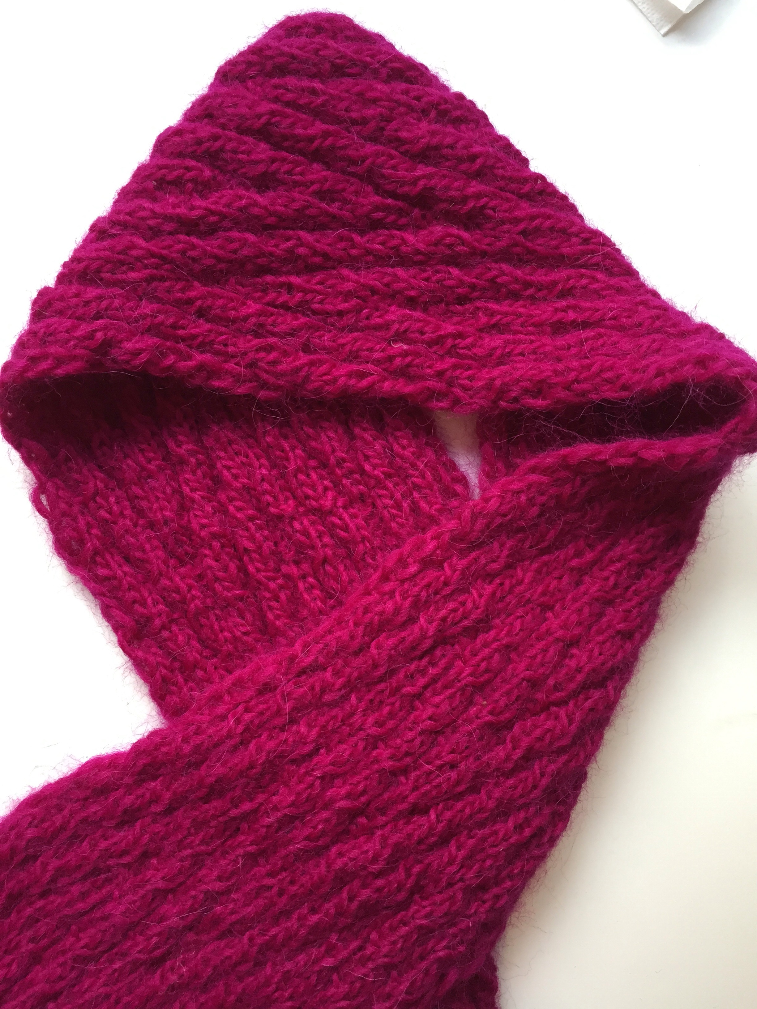Reversible Knitting Patterns For Scarves Best Inspiration