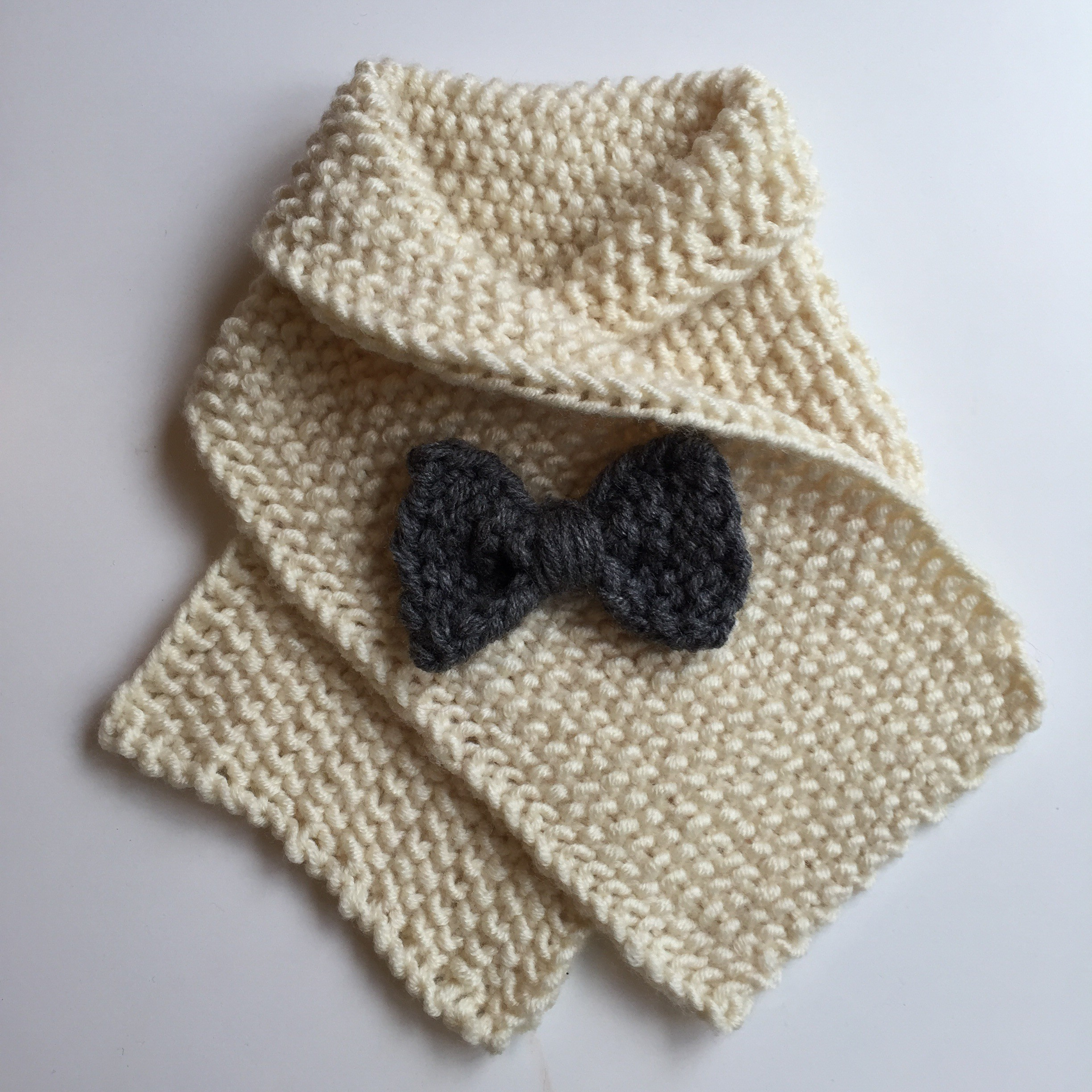 Knitting Patterns For Collar Scarf : Little lady scarf   a free knitting pattern Alaska Knit Nat