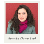 Reversible Chevron Scarf