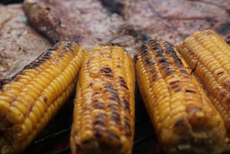 Perfect Grilled Corn | A tasty summer recipe from Alaskaknitnat.com