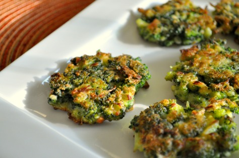 Baked broccoli fritters - the best way to use frozen broccoli | recipe from Alaskaknitnat.com