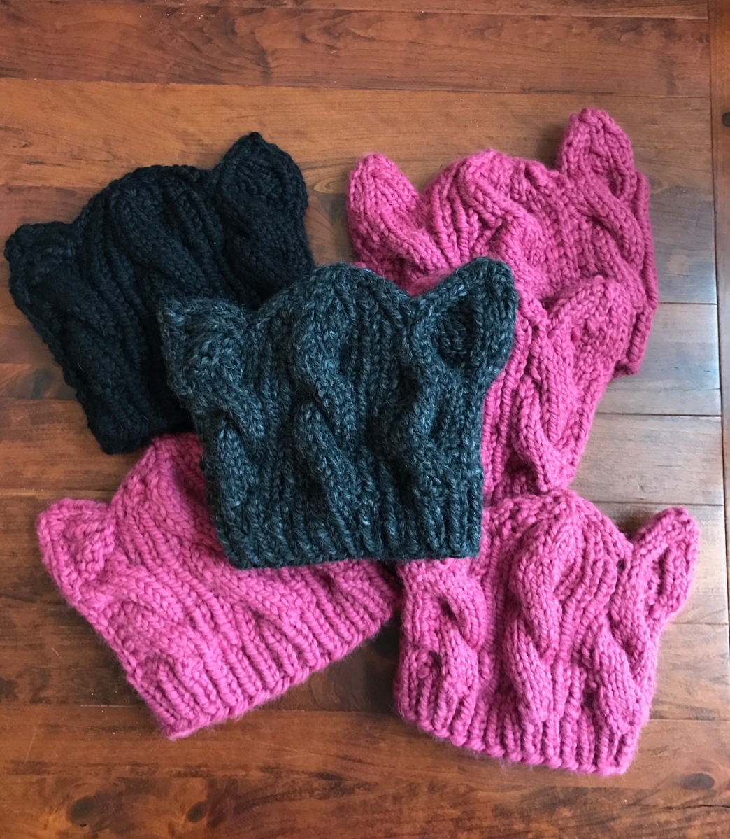 Guest Post: Cabled Pussy Hat