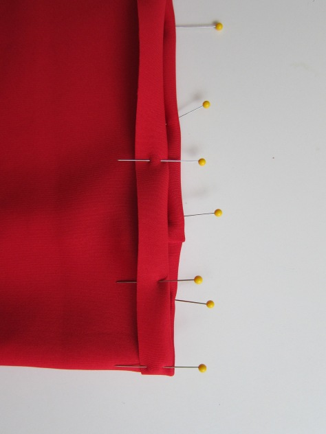 DIY Cassie Skirt - a LuLaRoe sewing hack. Make this cute pencil skirt in under an hour! Pattern from alaskaknitnat.com
