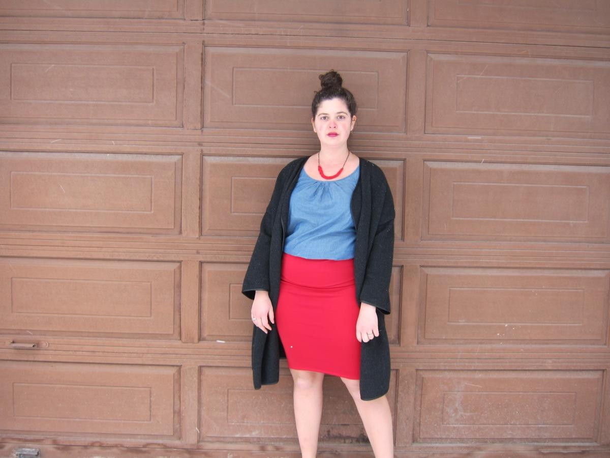 DIY Cassie Skirt - a LuLaRoe sewing hack