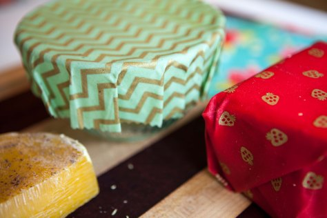 DIY waxed cloth food wrap | A tutorial from AlaskaKnitNat.com