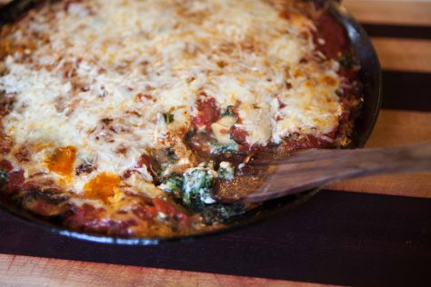 Baked tortellini skillet | a weeknight meal by Alaska Knit Nat