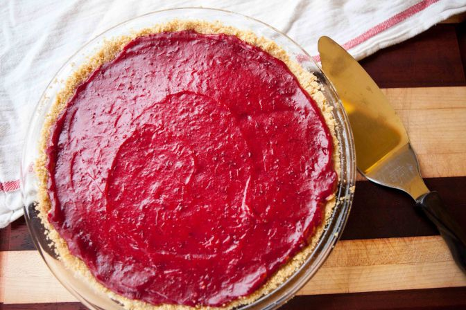 Lowbush Cranberry Tart