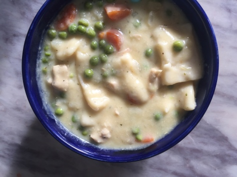 Creamy Chicken & Dumplings | A recipe from alaskaknitnat.com