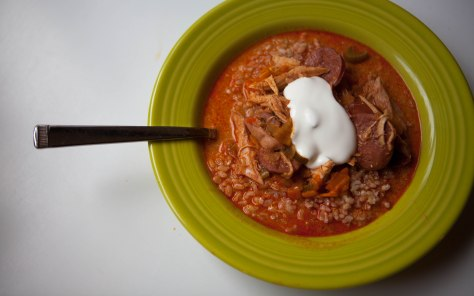 Hearty Hungarian Stew | A Perfect Fall Meal from Alaskaknitnat.com