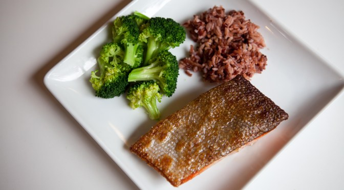 Ridiculously Easy Crispy Skin Salmon