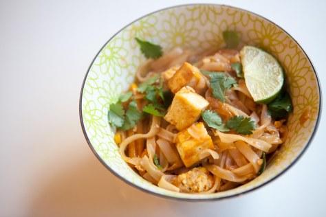 Delicious and easy homemade Pad Thai | a recipe from Alaskaknitnat.com