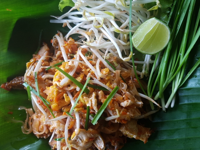 Delicious and easy homemade Pad Thai | a recipe from Alaskaknitnat.com