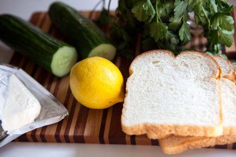 Cucumber sandwiches || A delightful recipe from Alaskaknitnat.com