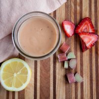 Strawberry Rhubarb Curd